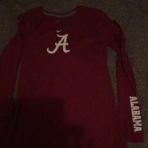 Nike Alabama long sleeve shirt New never worn